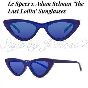 NWT's Le Spcs x Adam Selman Blue Sunglasses